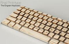 """Engrain"" Tactile Keyboard by Michael Roopenian"