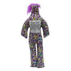 Dammit Dolls - Purple Flowers - $14.99 - Dammit Dolls - The Beadcage - Jewelry & Gift