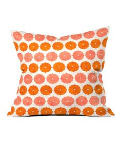 Take a look at this Poppy Annapurna Throw Pillow by DENY Designs on #zulily today! $35 !!