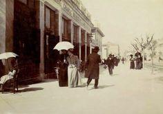 Αθήνα, οδός Πανεπιστημίου (Ζαχαροπλαστείο ΓΙΑΝΝΑΚΗ). c. 1900.