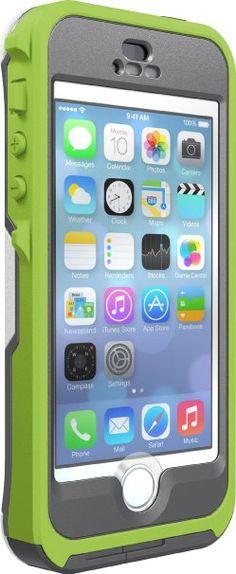 Otterbox Preserver Series Waterproof Case iPhone 5/5S - Retail Packaging - Pistachio - Grey/Glow Green