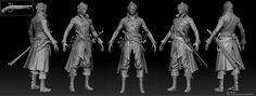 ArtStation - 3d character, pirate , Jaeuk Lee