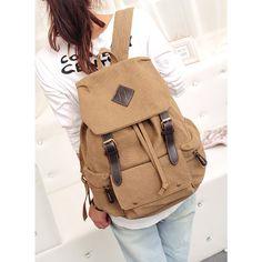 Four color backpack,canvas backpack, Cylinder backpack, school backpack,Fashion bag,Travel backpacks