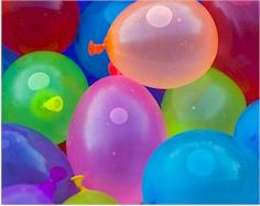 Water balloon games - *Hand Towel *Hide & Seek *Laundry Basket *Plastic Fork *Scramble *Slippery Toss *Sweat Pant Relay *Water Baseball *Water Pop *Volleyball
