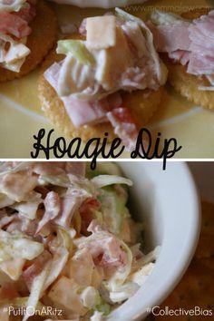 Hoagie Dip - #PutItOnARitz Hoagie Dip Recipe #ad