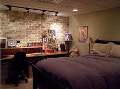 Basement Bedroom Makeovers Unfinished Basement Bedroom Basement
