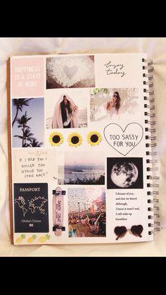 DIY Notebook decor!