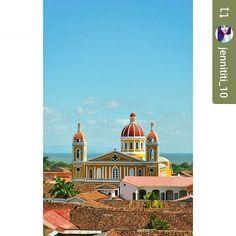 From @jennititi_10: Catedral de #Granada #Nicaragua #ILoveGranada #AmoGranada #Travel