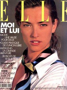 Tatjana Patitz, for Elle France | 1989