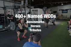 400+ named benchmark CrossFit WODs (ie: Hero WODs, The Girls, Tributes, The Open, etc.) in one WOD database. Find names, movements and demo videos.