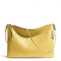 The Bleecker Daily Shoulder Bag In Leather from Coach .... easy beach wear / stroll on the ocean path