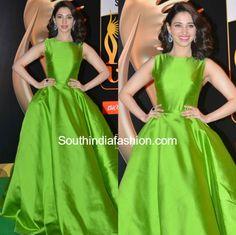 tamannaah_green_gown_iifa_utsavam_2016