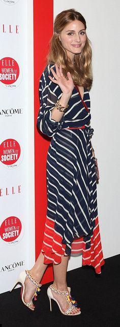 Olivia Palermo wore a Preen by Thornton Bregazzi dress