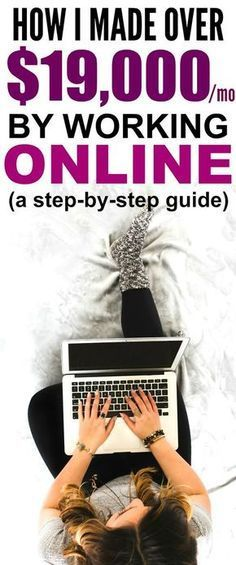 How she made over $19,000 in her 8th month of blogging is SO COOL! I'm so glad I found these GREAT tips Now I have some real ways to make money from home without a college degree! Definitely pinning!