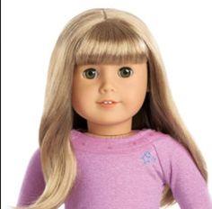 4f7305d1dda67b AG 52 My American Girl - blonde hair with fringe
