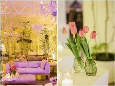 Wedding lounge inspiration, with tulip decor. Wedding Lounge, Luxury Wedding, Shed Design, House Design, Wedding Decorations, Decor Wedding, Table Decorations, Yard Sheds, Drops Patterns