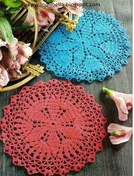 Resultado de imagen para carpeta al crochet paso a paso