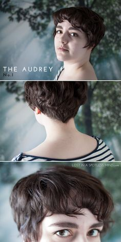 Five ways to style a pixie cut: the Audrey no. 1 | from lostinaspotlessmind.com