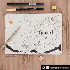 Bullet journal collection idea: brain dump It's almost August. It means that it's time to set up your bullet journal. Check out my favorite August bullet journal layout ideas you want to copy now. Bullet Journal Première Page, Planner Bullet Journal, Bullet Journal Themes, Bullet Journal Spread, My Journal, Journal Covers, Bullet Journal Inspiration, Bullet Journals, August Bullet Journal Cover