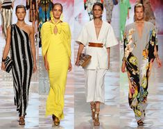 The Best of London, Milan and Paris Spring 2013 Fashion Week.  Etro Spring 2013 Collection.