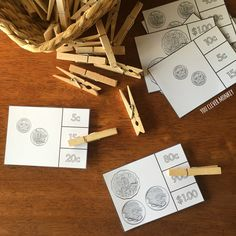 Teaching Australian Money - classroom ideas and ready to print resources perfect for teaching Australian coins in hands on play   you clever monkey