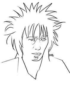 #KiyoshiroImawano #RCサクセション #portrait #art #illustration #kentaueoka #忌野清志郎 #ドローイング #ウエオカケンタ