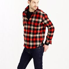 J.Crew - Shirt-jacket in essential check