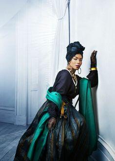 Dieses Kostüm imitiert Marie Laveau, eine bekannte Vodoo-Hexe