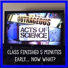 Class finish early? Here are great youtube clips to show that fit with your…