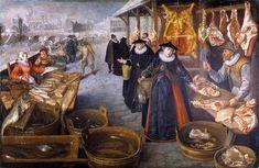 Lucas van Valckenborch (Leuven,1535~1597, Frankfurt am Main), Flemish Renaissance Artist