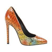 Gina designer shoes Wynne Jungle Python size 3 to 3.5
