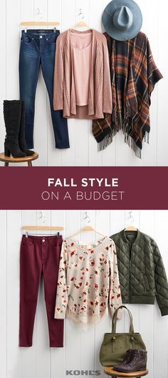 It can be tempting to run out and buy a whole new wardrobe every season. But, not only is it expensive, it's not necessary! By picking out a few trendy items to add to your fall wardrobe that don't break the bank, you can update your whole look. Fall Wardrobe, Capsule Wardrobe, Wardrobe Ideas, Fashion 2018, Fashion Outfits, Fashion Ideas, Women's Fashion, Woman Outfits, Fashion Trends