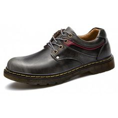 Male Stylish Smoky Color Casual Leather Dress Shoes reliable cheap price FsNoB5