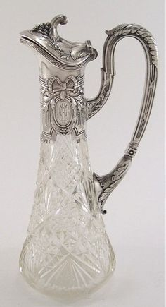 1000 Images About Silver And Crystal On Pinterest Cut Glass Crystal Vase And Crystals