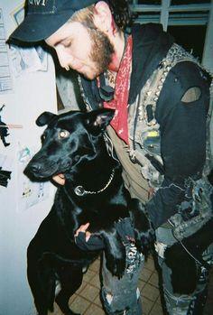 Black dog Anarcho Punk, Crust Punk, Punk Jackets, Punk Patches, Battle Jacket, Anti Fashion, Cyberpunk Fashion, Skinhead, Biker Leather