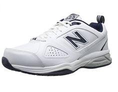 New Balance Men's 623v3 Training Shoes Wide 4E White/Navy Size 15 W #NewBalance #RunningCrossTrainingSneakers