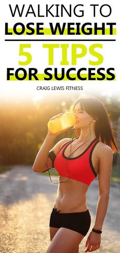 You are about to find out what the 5 tips for success are when it comes to walking to lose weight.  Going about with a body size you are not proud of can be irritating and saddening.  But what's more frustrating is engaging in a weight loss strategy that consumes energy and other resources without satisfying result.