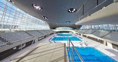 Wat een mooi gebouw! London Aquatics Centre open voor publiek - architectenweb.nl