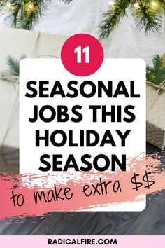 Sometimes our income is never enough and for that we need extra money. That's where we turn to other opportunities. We usually look for side hustles especially if it's the holiday season and we want to stay out of debt but still spend money. Recently there are a lot of ways to make different types of income. Whether you take on a traditional side job, start your own gig, or looks for a seasonal jobs. We've got you covered! Financial Peace, Financial Goals, Make Money From Home, How To Make Money, Dividend Investing, Creating Wealth, Financial Stability, Finance Organization, Managing Your Money