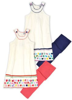 Girls Sleeveless Summer Dress And Leggings Set Kids Outfit New Ages 2-8 Years in Clothes, Shoes & Accessories, Kids' Clothes, Shoes & Accs., Girls' Clothing (2-16 Years) | eBay