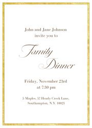 new year dinner invitation
