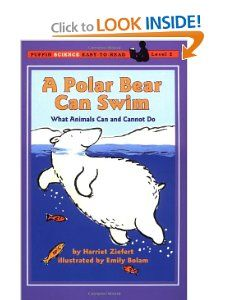 A Polar Bear Can Swim (Easy-to-Read, Puffin): Harriet Ziefert: 9780140386929: Amazon.com: Books