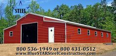 Garage Buildings - One of the Nation's Leading Suppliers of metal buildings and structures including steel carports, garages, workshops, sheds, and barn buildings. Metal Shed, Metal Garages, Metal Barn, Metal Buildings For Sale, Steel Buildings, Garage House, Garage Doors, Steel Carports