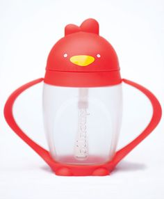 Lollacup -- Awesome sippy cup I saw on Shark Tank! Flexible straw that has a weight on the bottom so that it always stays in the liquid, even when the cup is tilted. Also, no valves so it's easy for babies to sip. Handle removes to fit in cup holders. Made in USA and BPA-free. -- Had to order this for Autumn last night! Pre-order now and get free shipping!