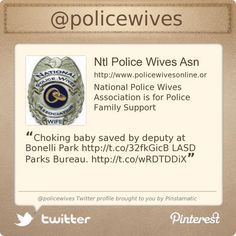 National Police Wives Association is on Twitter @policewives's Twitter profile courtesy of @Pinstamatic (http://pinstamatic.com)