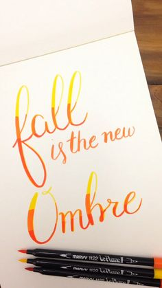 Get inspired for Fall with these 5 hand lettering videos