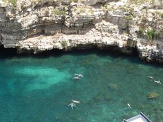 """Panorama, """"Hotel Covo dei Saraceni"""", Polignano a Mare, Puglia Italia (Luglio)"""