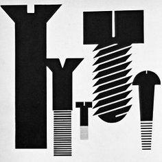 Graphic Design Manual – screws | typography / graphic design: Armin Hofmann |