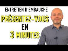 PRÉSENTEZ-VOUS EN 3 MINUTES - PARLEZ-MOI DE VOUS ENTRETIEN D'EMBAUCHE Simulation Exemples Réponses - YouTube