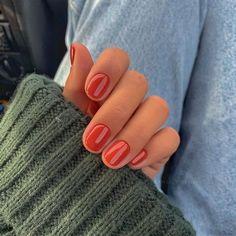 Get Nails, Love Nails, Pretty Nails, Wedding Day Nails, Nail Time, Minimalist Nails, Autumn Nails, Beauty 101, Colorful Nail Designs